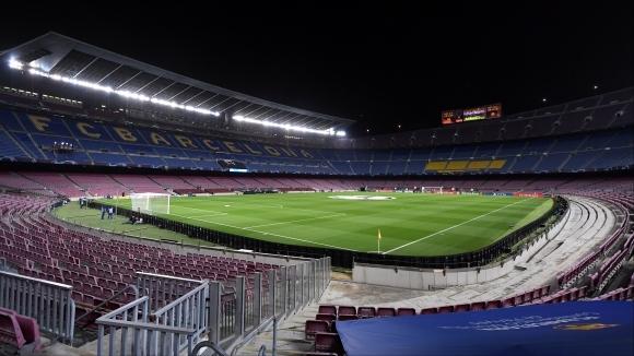 Барселона може да играе пред фенове срещу Юве