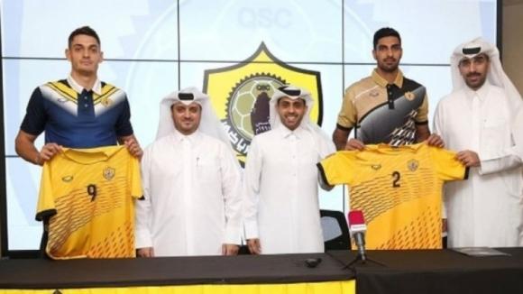 Катар Спорт Клуб представи Бранимир Грозданов