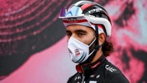 Фернандо Гавирия напусна Обиколката на Италия след положителна проба