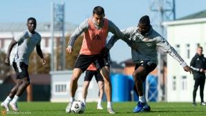 Жоро Костадинов поднови тренировки с Арсенал (Тула)