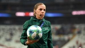 За първи път жена ще ръководи мач от Лига Европа