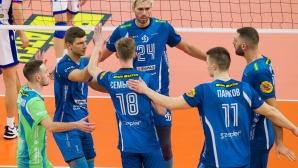 Супер Цецо Соколов с 21 точки, Динамо с 4 от 4 в Русия