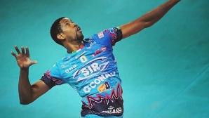 Вилфредо Леон регистрира най-силния сервис в историята на волейбола (видео)