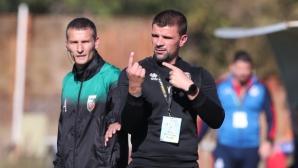 Вальо Илиев: Не мисля, че е имало отпускане, момчетата подходиха професионално