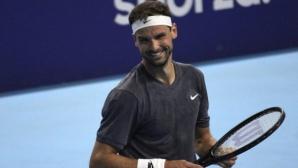 Григор Димитров научи съперника си за полуфинала в събота