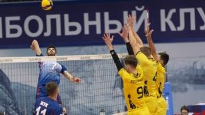 Тодор Скримов блесна с 21 точки, Енисей с трета загуба в Русия (видео + снимки)