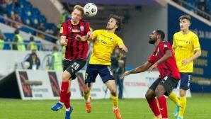 Червен картон и два късни гола решиха битката между Ростов и Химки
