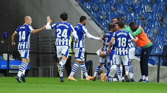 Реал Сосиедад отново поведе колоната след поредна...