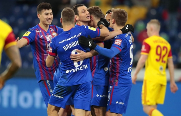 ЦСКА (Москва) разби Арсенал и се залепи зад Спартак