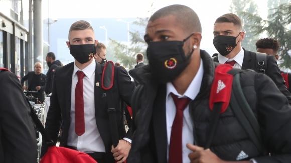 ЦСКА-София пристигна в Рим