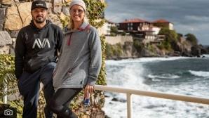 Тодор Спасов и Рияна Ифланд търсят най-добрите места за височинни скокове във вода у нас