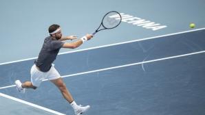 Григор си отмъсти на Циципас и е на 1/4-финал във Виена