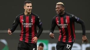 Милан разби Спарта без Минчев, Златан отново пропусна дузпа (видео)