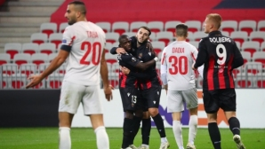 Един гол стигна на Ница срещу Апоел