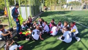 Женският футбол се завърна в Сандански