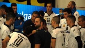 Виктор Карагьозов: Не мога да бъда недоволен от този мач