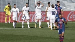 Реал Мадрид разби новак и стъпи на върха в Ла Лига (видео)