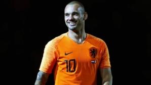 Снайдер нареди себе си сред петимата най-велики за Нидерландия