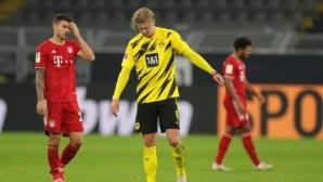 Спортният директор на Борусия вярва, че Холанд може да настигне Левандовски