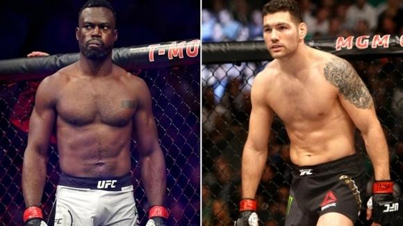 Крис Уайдман срещу Юрая Хол в UFC 258