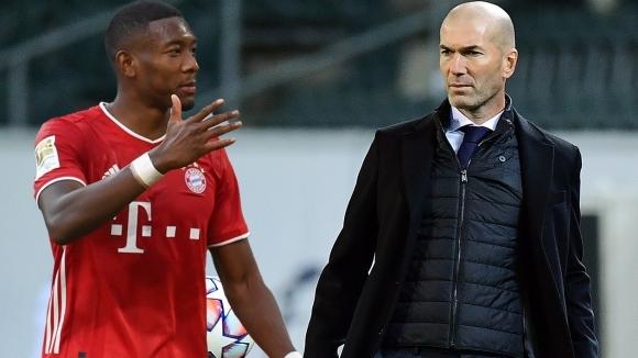 Зидан лично се свързал с Алаба, за да му предложи трансфер в Реал Мадрид