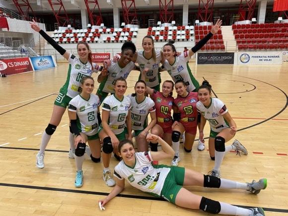 """Борислава Съйкова с 8 блокади, Галац спечели """"българското"""" дерби на Румъния с Динамо"""