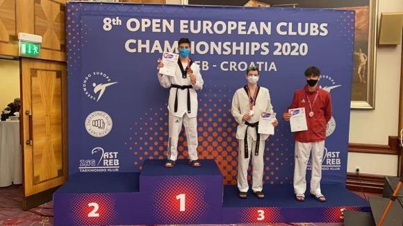 България спечели 3 златни и общо 12 медала от Европейското по таекуондо