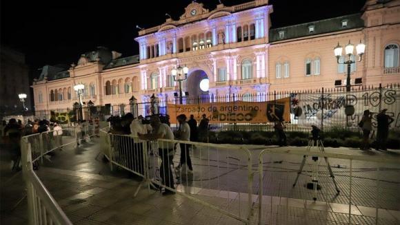 """Тялото на Диего Марадона беше транспортирано в президентския дворец """"Каса Росада"""""""