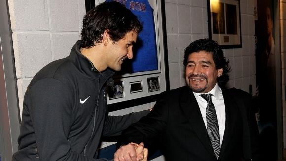 Диего Марадона и тенисът – едно приятелство за...