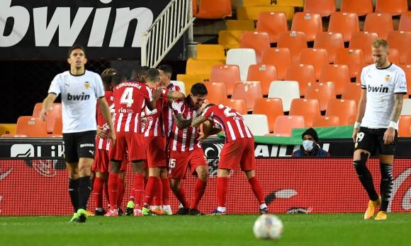 Атлетико пречупи Валенсия с класически за тях...