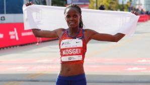Световната рекордьорка Косгей ще участва в маратона на Делхи