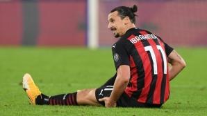 В Милан притеснени за състоянието на Златан