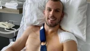 Олимпийски шампион в плуването претърпя операция