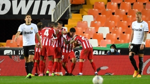 Атлетико пречупи Валенсия с класически за тях резултат (видео)