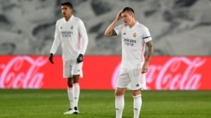 Реал Мадрид 1:2 Алавес, Каземиро върна надеждата на домакините