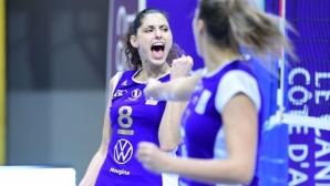 Ева Янева с 13 точки, Льо Кане с трета победа във Франция