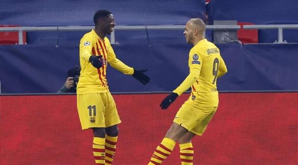 Барселона продължава без грешка в Шампионската лига...