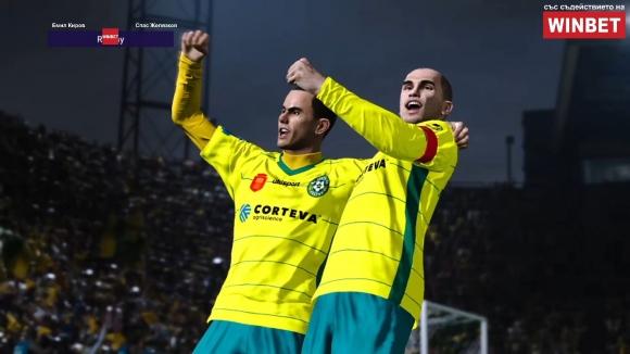 Добруджа поведе в WINBET е-футбол лига