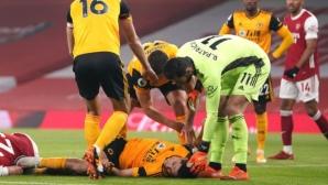 Нуно Еспирито Санто: Разтревожени сме за Раул