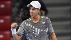 Андреев се изкачи  с 47 места в ранглистата на АТР,  Димитров запази позиции