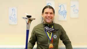 Алпинистът Атанас Скатов с международен приз за мир