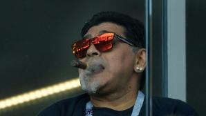 Марадона злоупотребявал с хапчета и алкохол до последно