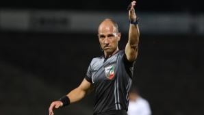 Валентин Железов ще свири мача между Левски и Локомотив (Пловдив)