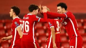 Ливърпул 0:0 Аякс, греда за домакините