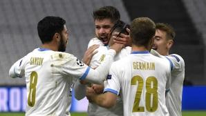 Първите голове донесоха първа победа за Марсилия (видео)