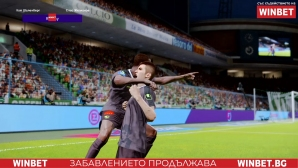 Берое разгроми Лудогорец в WINBET е-футбол лига
