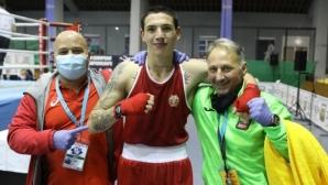 Владояну остана със сребърен медал в категория до 70 килограма на Европейското