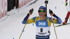 Хана Йоберг спечели и втория спринт в Контиолахти, Милена Тодорова 57-а