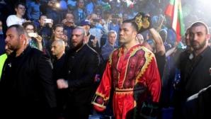 Джошуа: Пулев е кръстен на велик български воин и носи бойния дух в себе си