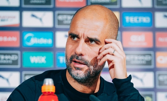Мислим за Марсилия, а не за дербито с Юнайтед, увери Гуардиола